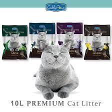 Cuddly Paws Premium Clumping Cat Litter in Pakistan at Petshub.pk